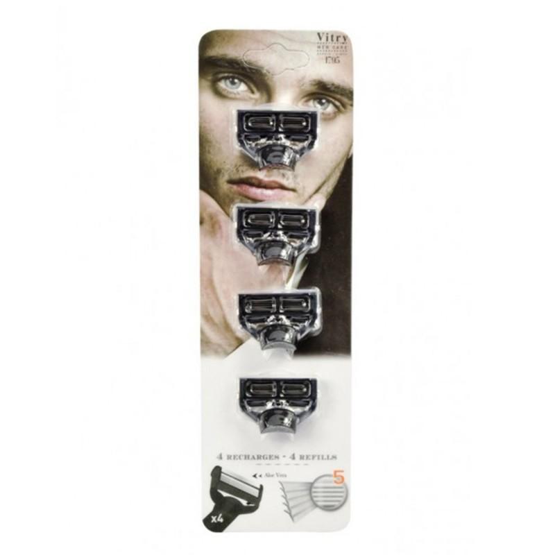 Recharge rasoir 5 lames (x4)